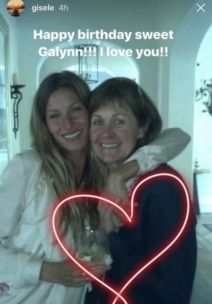 """Tom Brady and Gisele send a heartwarming Happy Birthday message to the #Patriots QB's mother."""