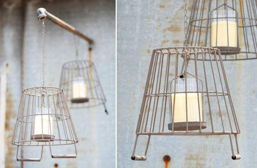 Repurposed Wire Baskets @ Decor Steals