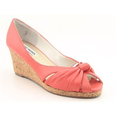 Steve Madden Lolliee Pink Platforms  Wedges Womens 38 EU