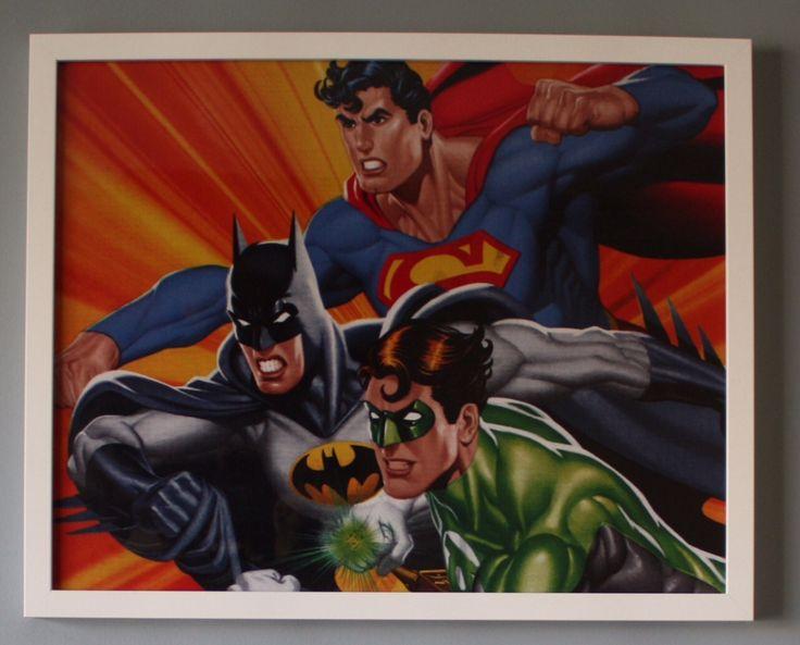 (a) Justice League Team 50cm x 40cm