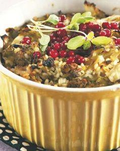 Traditional cabbage casserole - Perinteinen kaalilaatikko