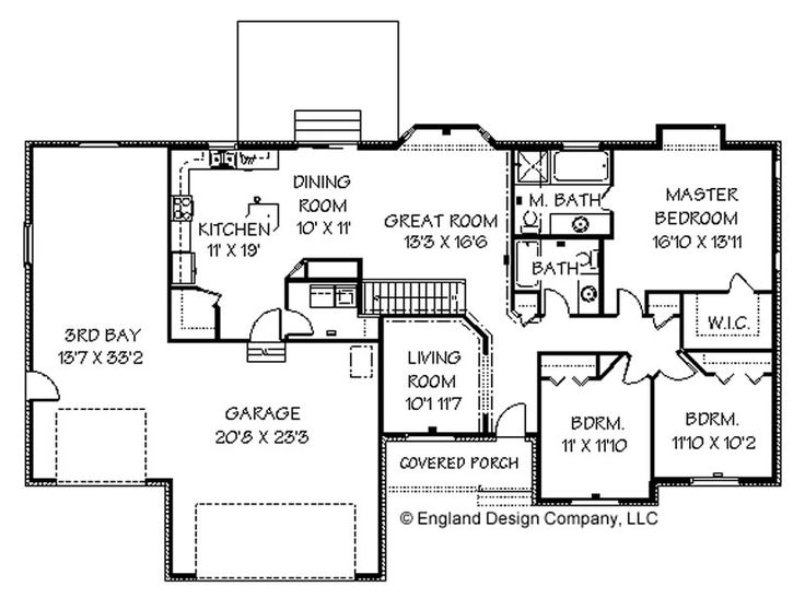 House plans bluprints home plans garage plans and vacation homes home pinterest garage Ranch style house plans