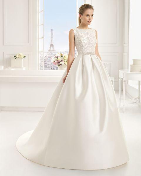Unsere Auswahl an Brautkleidern mit Bateau-Ausschnitt 2016: Ihr Glanzstück für den Hochzeitstag! Image: 1