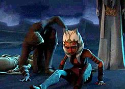 Anakin hugs Ahsoka: seriously, that's one of the best moments in Star Wars: The Clone Wars history