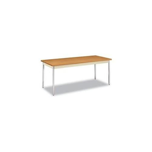Utility Table, Rectangular, 72w X 30d X 29h, Harvest/putty