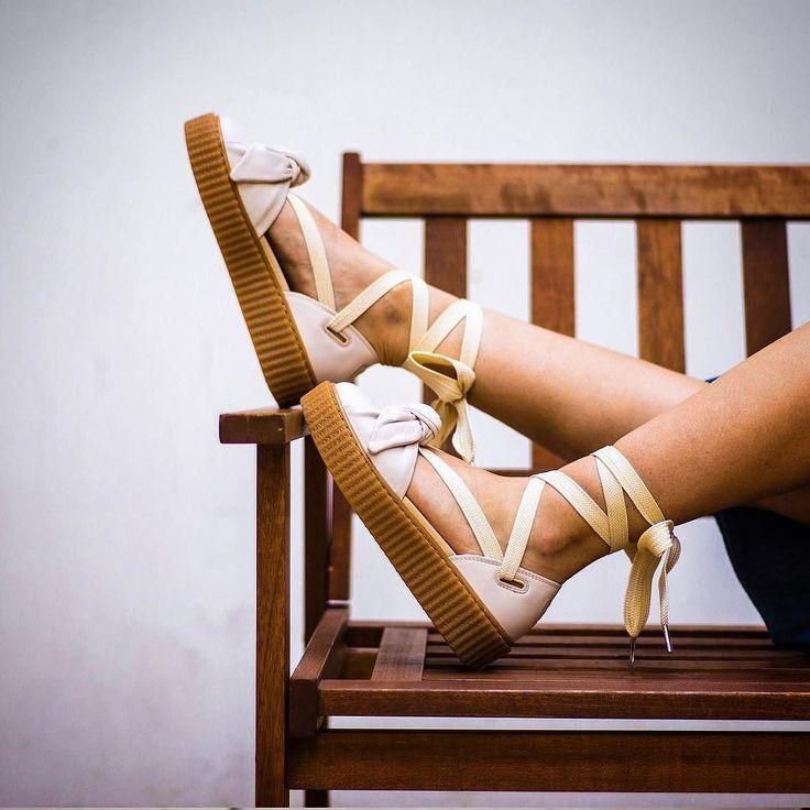 FENTY BY RIHANNA X PUMA WMNS BOW CREEPER SANDAL 16000 -  @sneakers76 in store  online (link in bio) #puma #creepers #wmns #sandal #bow  @sneakers76 @puma  @badgalriri  Photo Credit  #sneakers76 #teamsneakers76 #sneakers76hq  ITA - EU free shipping over  50  ASIA - USA TAX FREE  ship  29  #instakicks #sneakers #sneaker #sneakerhead #sneakershead #solecollector #soleonfire #nicekicks #igsneakerscommunity #sneakerfreak #sneakerporn #sneakerholic #instagood