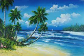 Afbeeldingsresultaat voor afbeelding palmenstrand