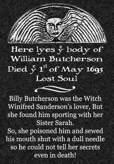 Billy Butcherson - Hocus Pocus