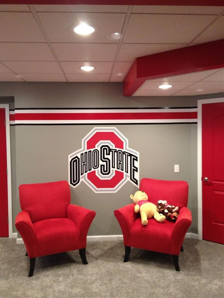 25 best ohio state rooms trending ideas on pinterest ohio state buckeyes ohio state game and for Ohio state bedroom paint ideas