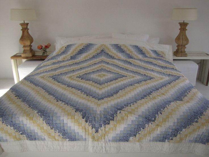 Handgemaakte quilt nummer 12 260 cm 260 cm - € 225,00 | VIA CANNELLA WOONWINKEL | CUIJK