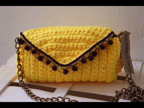 Clutch Crochet paso a paso - YouTube
