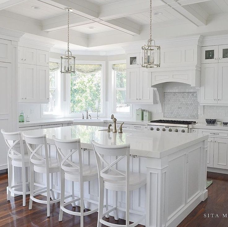 White Kitchen: 25+ Best Ideas About All White Kitchen On Pinterest
