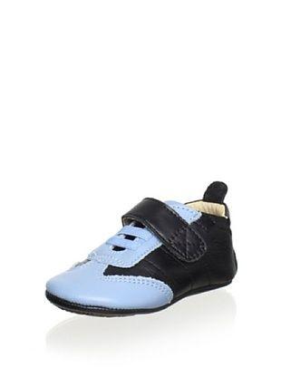 58% OFF Old Soles Kid's Lift Me Shoe (Black/Sky)