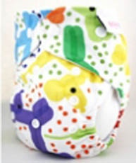 My favourite Designer Bums Nappy - Snaps - Balloon Dogs