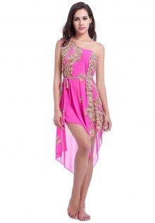 Rose Leopard Swimwear Dress