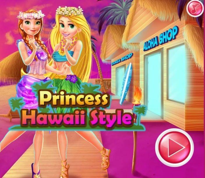 Jogar Princess Hawaii Style Jogo De Vestir Jogos De Moda Princesas