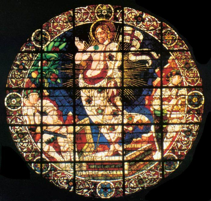 Vetrata del Duomo firenze - Paolo Uccello