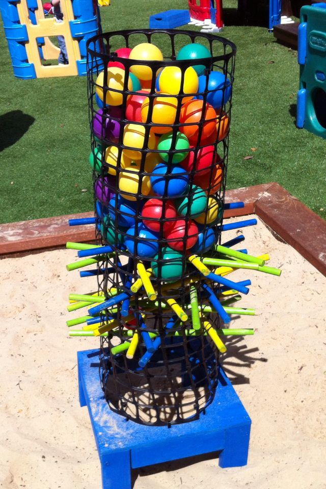 Attirant Large KerPlunk Game (backyard Game, About 1M Tall)
