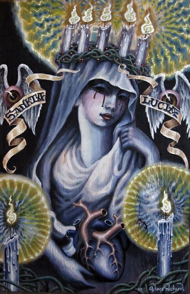 Sankta Lucia or st lucy by cannibol.deviantart.com on @deviantART