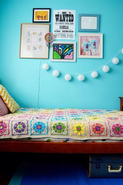 Crochet blanket - pattern in Simply Crochet #20 by Nicki Trench