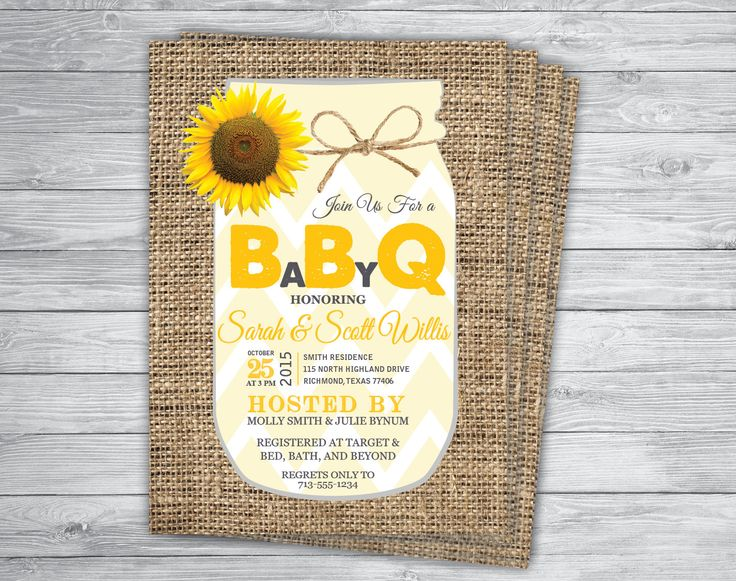 Sunflower Any Event Color Baby Q Bbq Gingham Barbecue
