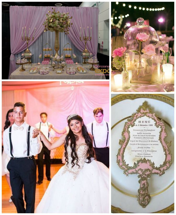 44 best images about princess quinceanera theme on pinterest for Quinceanera decorations