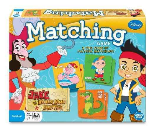 Amazon.com: Jake and the Never Land Pirates Matching Game: Toys & Games