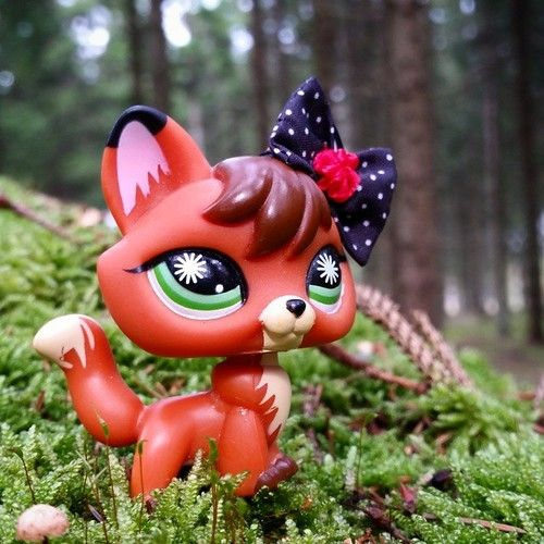 littlest pet shop fox