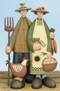 images of willi raye figures | American Organic - Everyday Figurines WW7788 | Williraye Studio