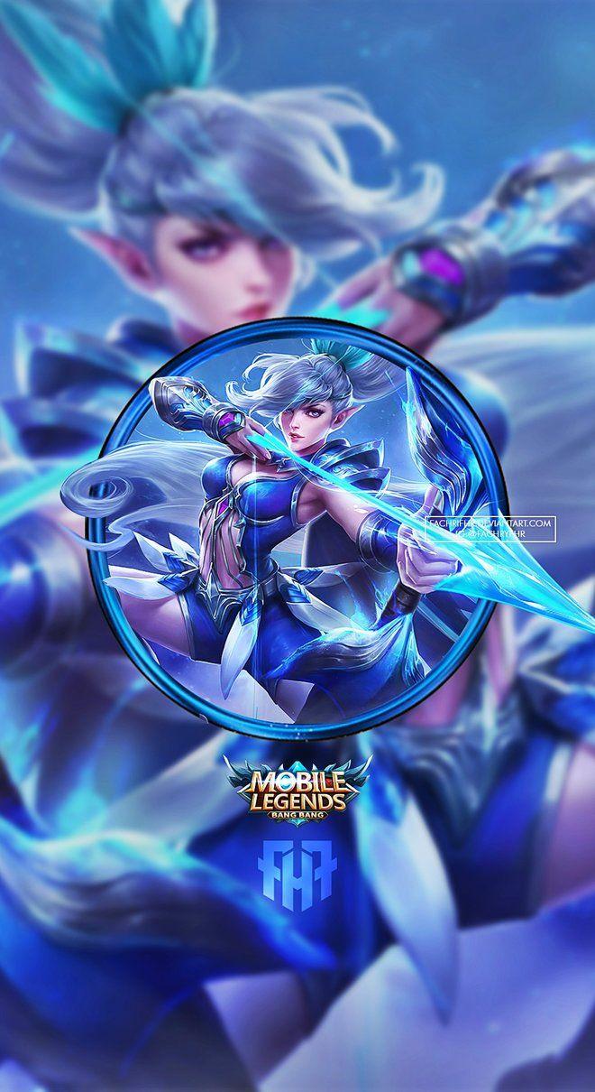 wallpaper phone miya moonlight archer by fachrifhr
