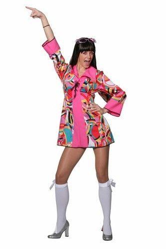 e80418a1526471 Disco jurkje popart is een geweldig vrolijk jurkje