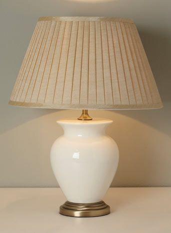 Cream Small Harris Table Lamp
