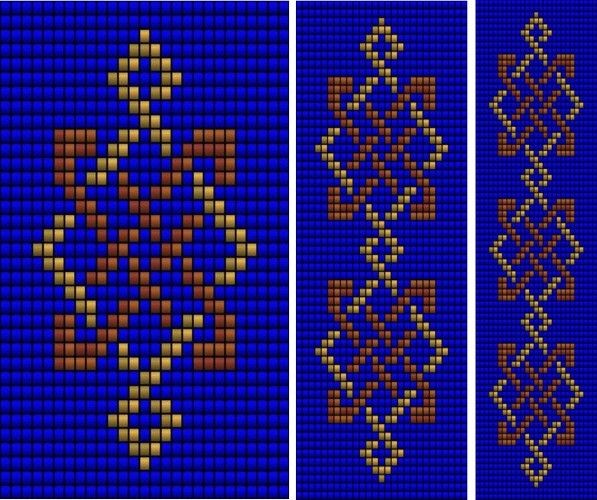 Celtic Knot Ribbon 5 (loom), Sova Enterprises