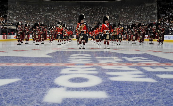 The 48th Highlanders a home opener tradition