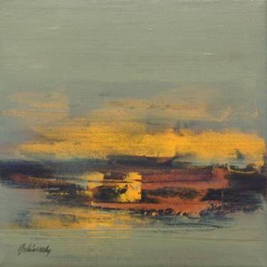 """Saatchi Art Artist Beata Belanszky-Demko; Painting, """"Hidden Memories"""" #art"""