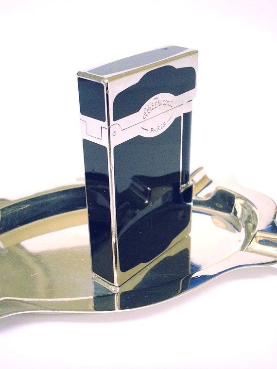 S.T. DUPONT LIGHTER  Oscuro Maduro Black  by STUNNINGCOLLECTIBLES