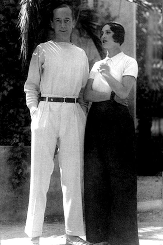 Unknown photographer - Jacques Henri Lartigue et renée Perle, french riviera, 1930