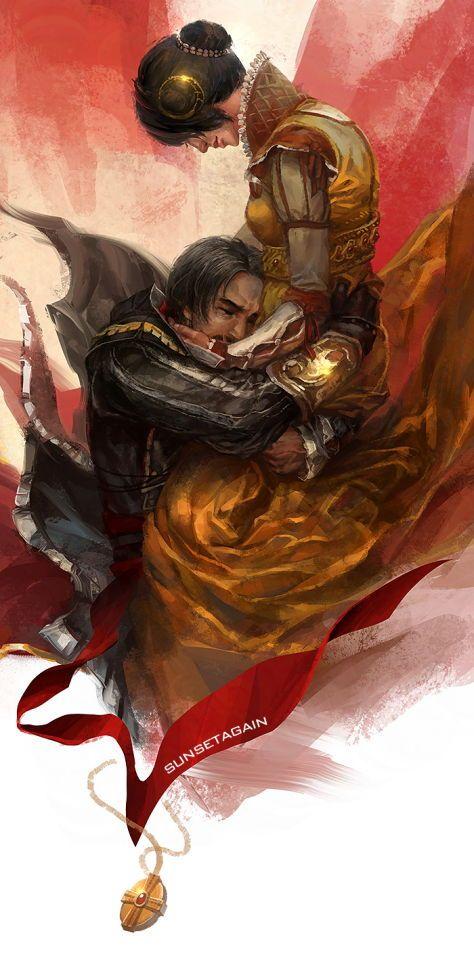 Ezio and Cristina