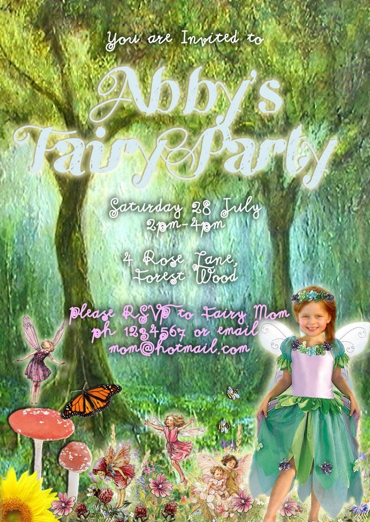 The 25 best Fairy party invitations ideas – Tinkerbell Party Invitation Ideas
