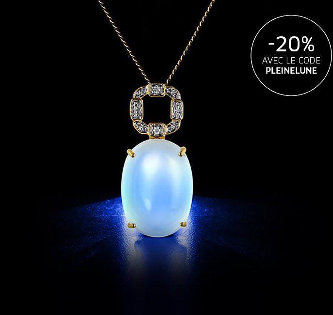 Alerte #eclipse sur nos prix !  -20% sur toutes nos belles Pierres de Lune aujourd'hui. On aimerait que ce soit la #pleinelune plus souvent   #juwelo #fullmoon #pleinelunecesoir #lunareclipse #pierredelune #bonplan #codepromo #bijoux #jewelerygram #pendentif #blue #diamonds #luxe #necklace #collier #jewelryaddict #mode #fashionaddict #instamode