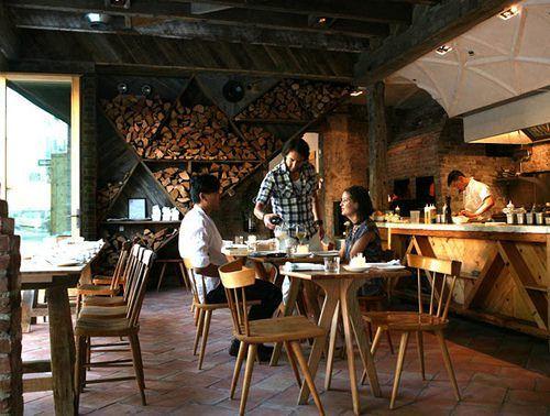 25 melhores ideias sobre restaurante r stico no pinterest - Decoracion de restaurantes rusticos ...