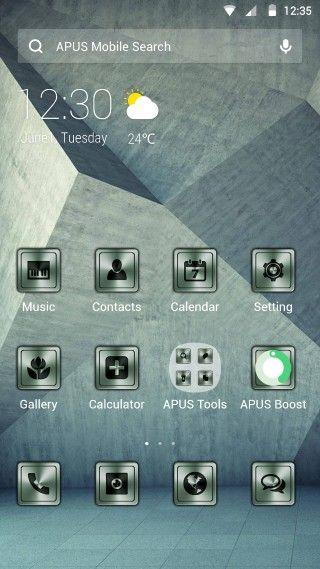 72+ Primary Apus Launcher Theme Apk - Simple OS Theme Poster Apk