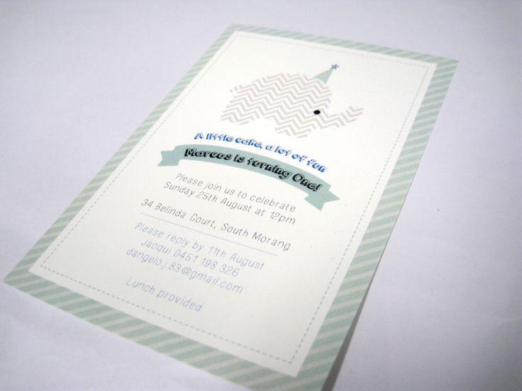 Childrens' Birthday invitations