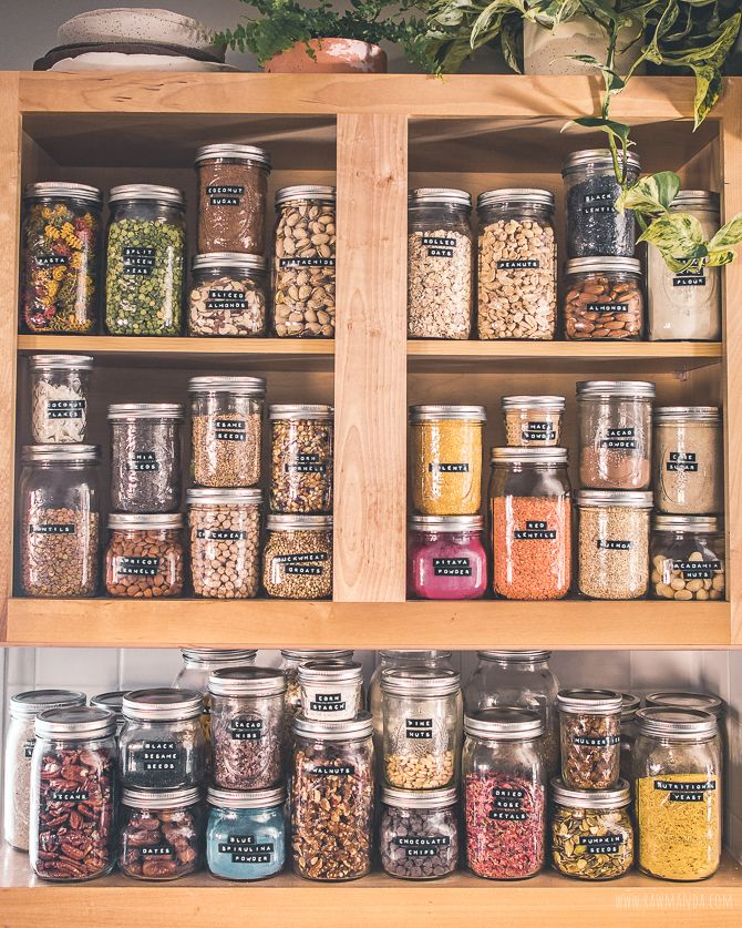 Organization Tips On Storing Store Nuts And Seeds In Your Pantry