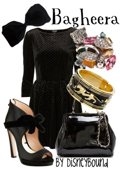Bagheera Outfit from DisneyBound
