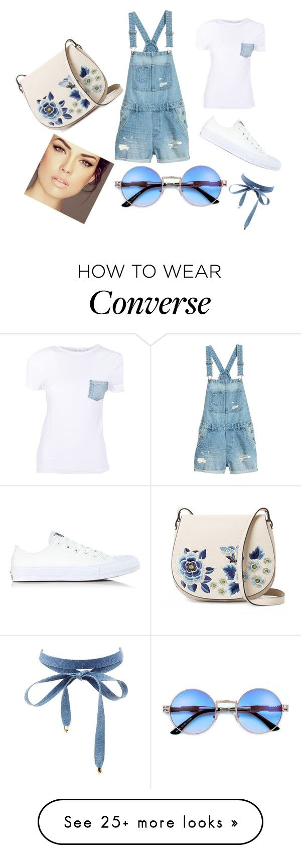 """Untitled #106"" by deni2004 on Polyvore featuring Helmut Lang, Converse, French Connection and Charlotte Russe"