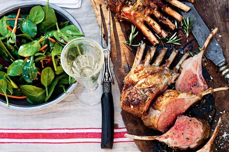 Maggie Beer's chargrilled milk-fed lamb from the Barossa Valley is to die for. Serve with roasted vegetables for a spin on the classic sunday roast.