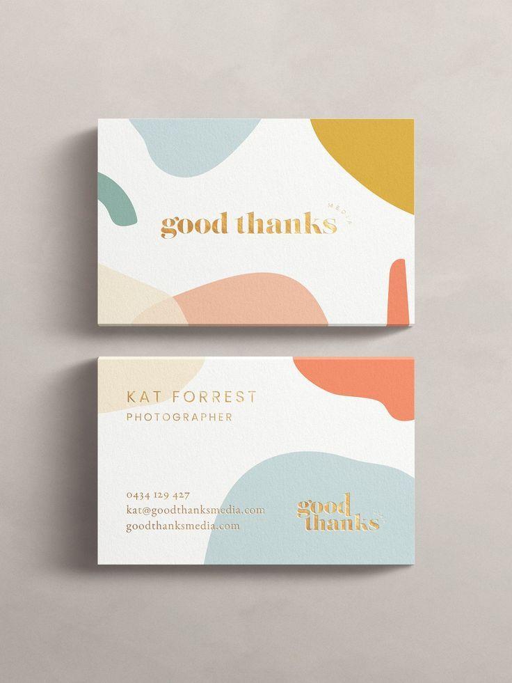 Good Thanks Media Mint Lane Graphic Design Business Card Graphic Design Business Graphic Design Branding