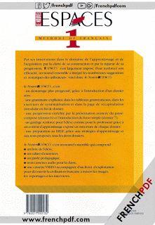 Télécharger Le nouvel espaces 1 pdf - Livre + Cahier d'exercices + CD audio - Livres PDF de FrenchPDF Télécharger livres pdf
