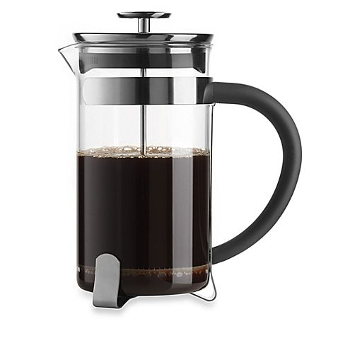 The stylish, Italian-designed Simplicity French Press Coffee Maker from Bialetti features a 32-oz. capacity glass beaker that allows you to manually prepare up to 8 cups of delicious, flavorful coffee the Parisian way. Looks great on any table setting.